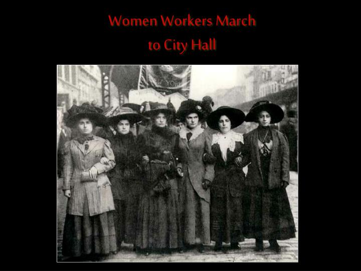 Women Workers March