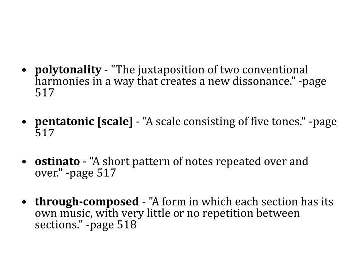 polytonality