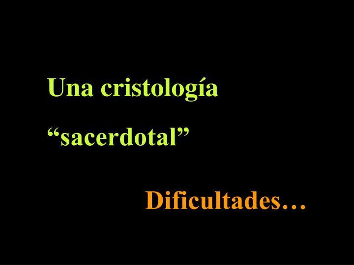 Una cristología