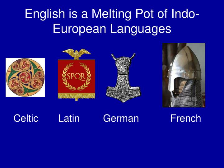 English is a Melting Pot of Indo-European Languages