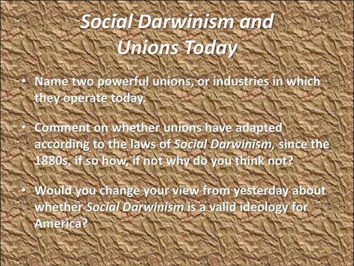 Social Darwinism and