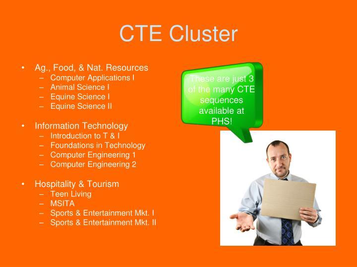 CTE Cluster