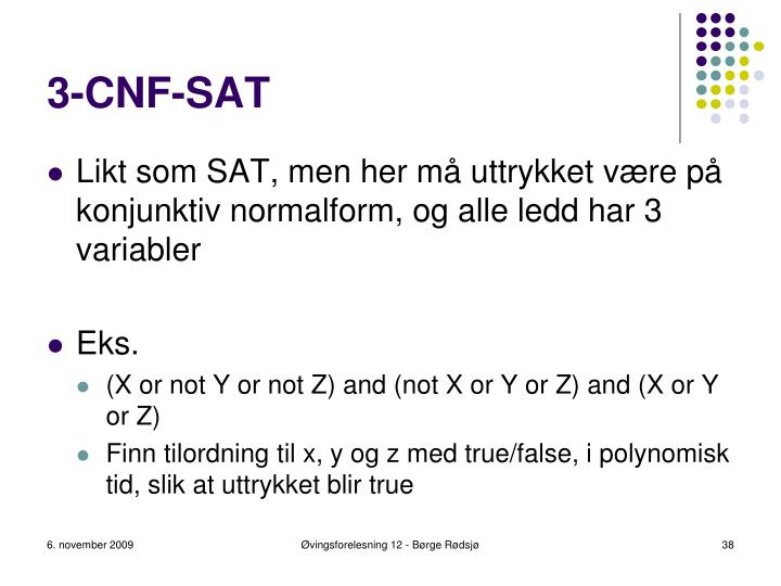 3-CNF-SAT