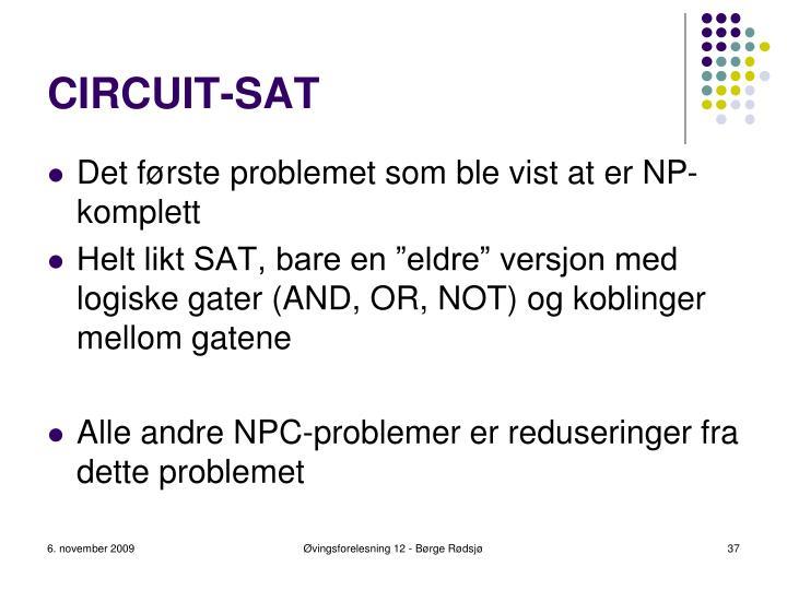 CIRCUIT-SAT
