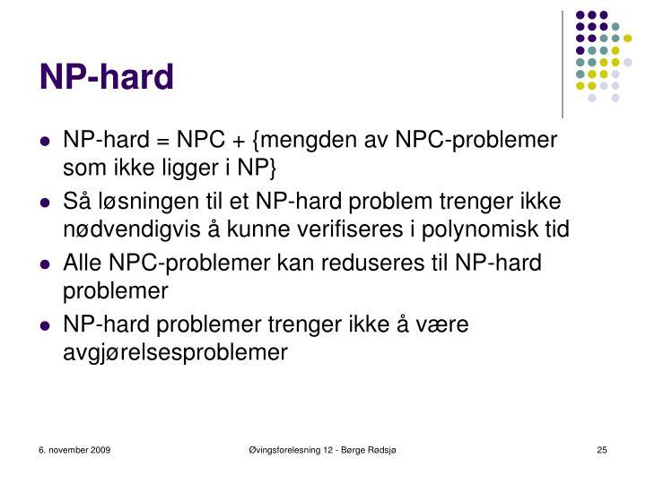 NP-hard