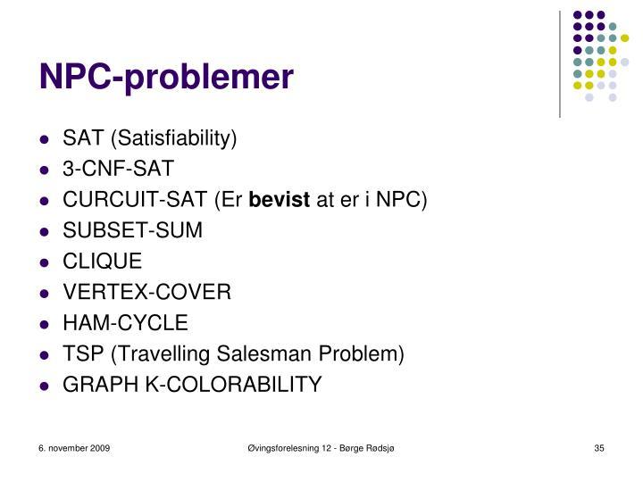 NPC-problemer