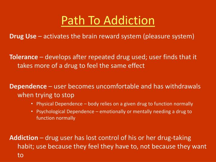 Path To Addiction