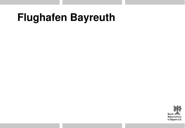 Flughafen Bayreuth