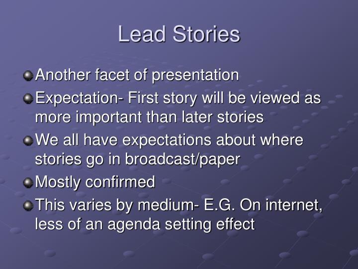 Lead Stories