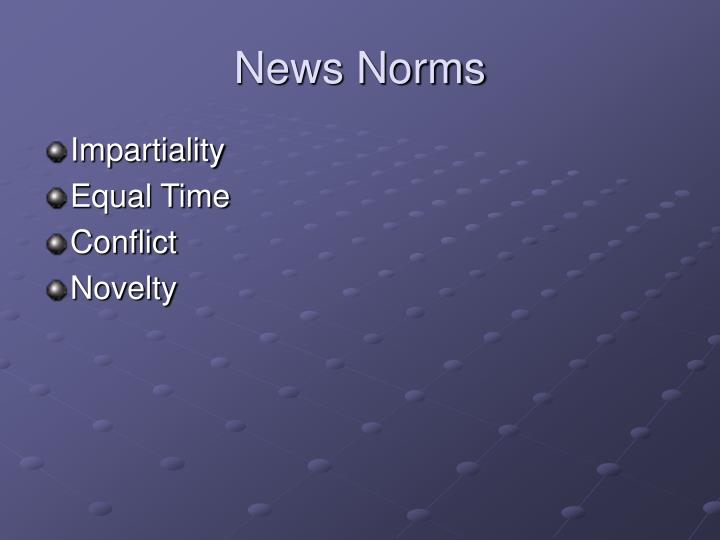 News Norms