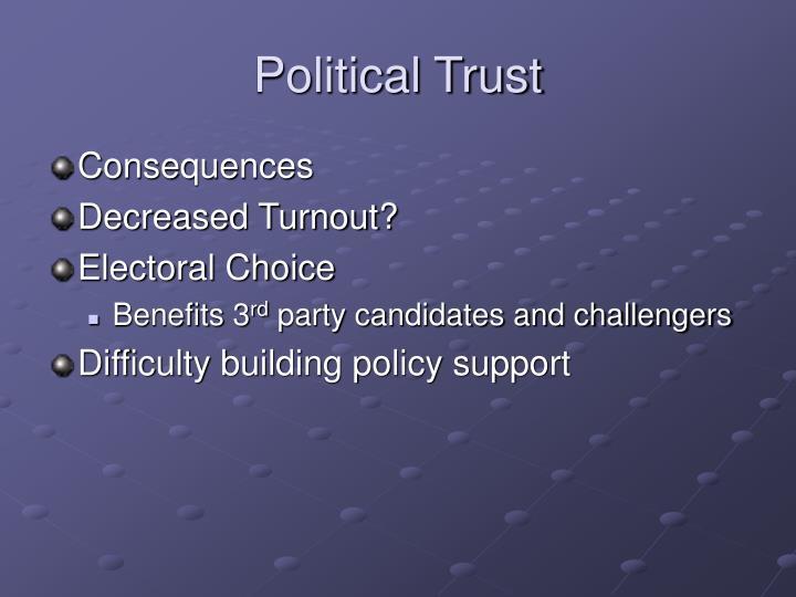 Political Trust
