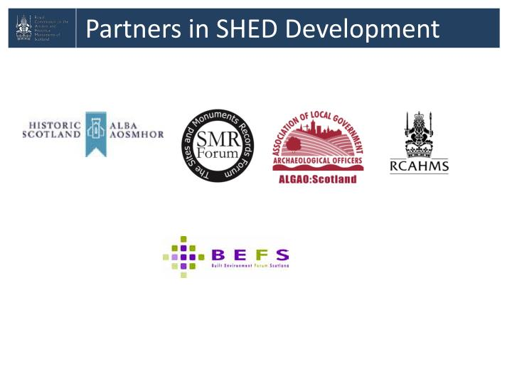 Partners in SHED Development