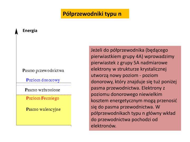 Półprzewodniki typu n