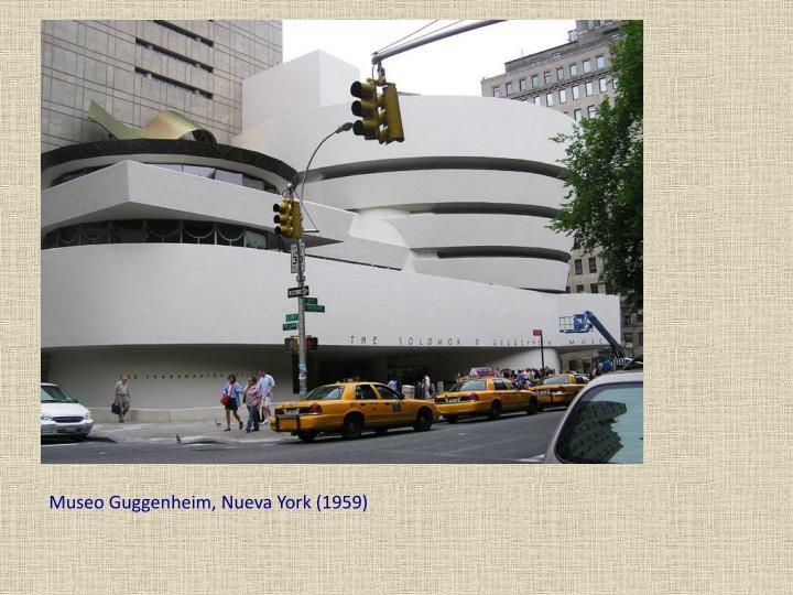 Museo Guggenheim, Nueva York (1959)