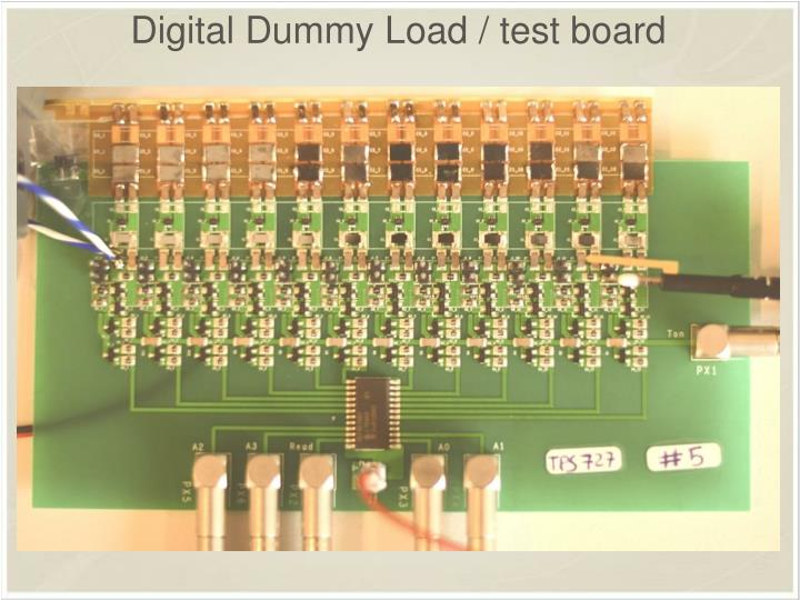 Digital Dummy Load / test board