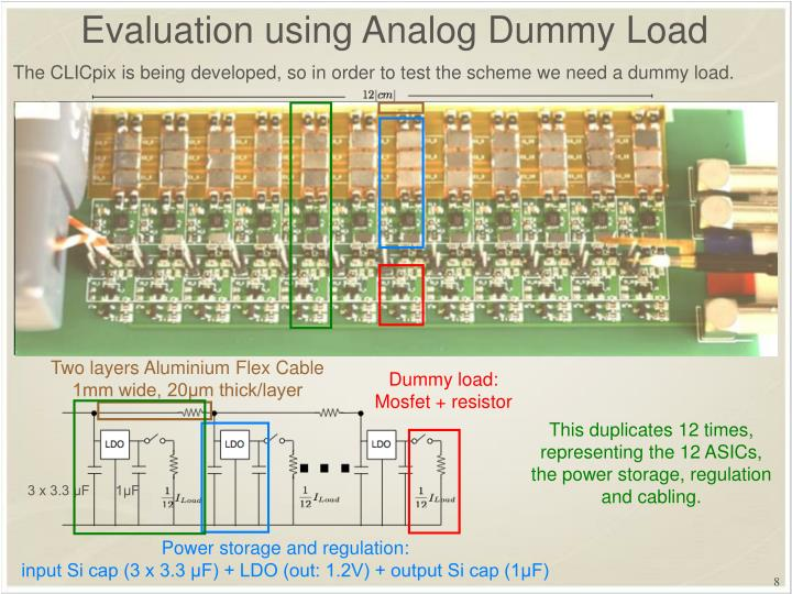 Dummy load: Mosfet + resistor