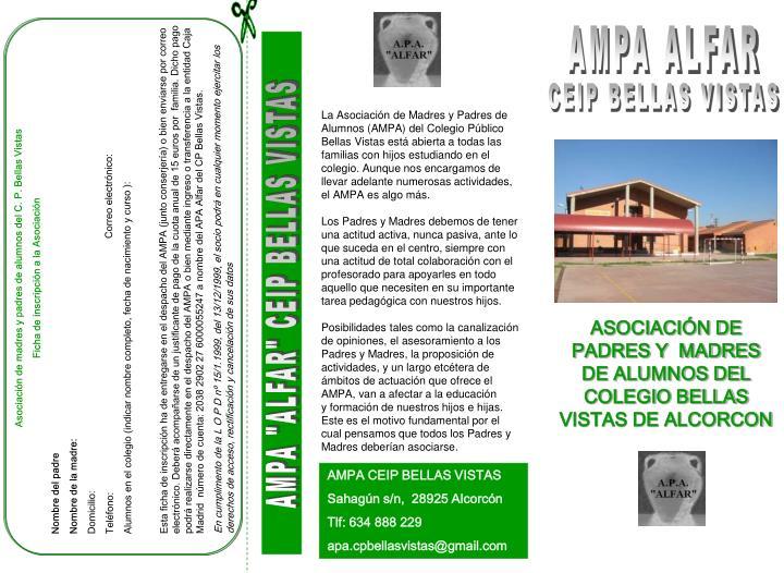 Asociación de madres y padres de alumnos del C. P.
