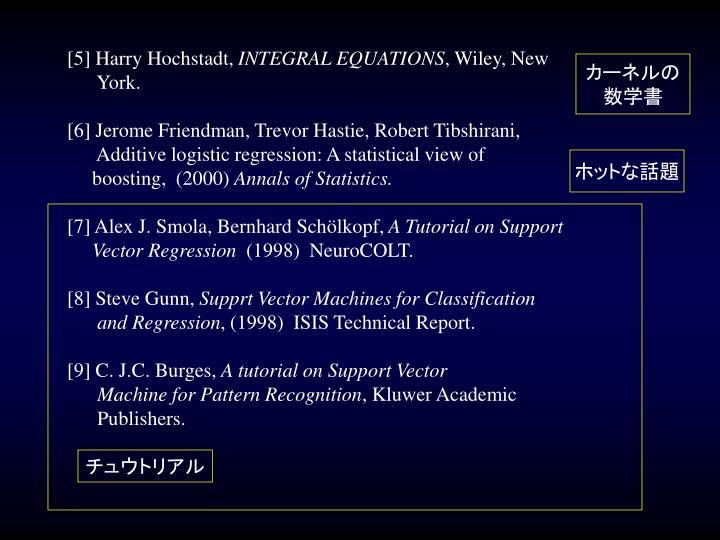 [5] Harry Hochstadt,