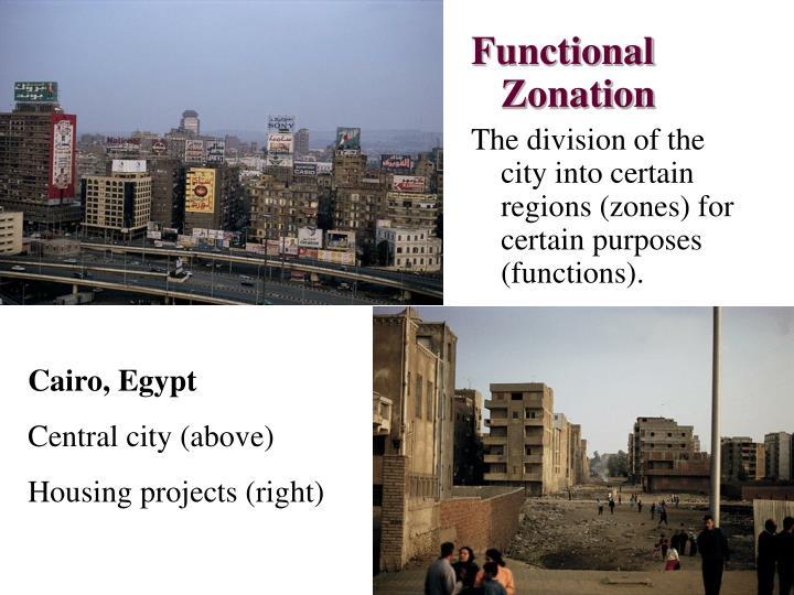 Functional Zonation