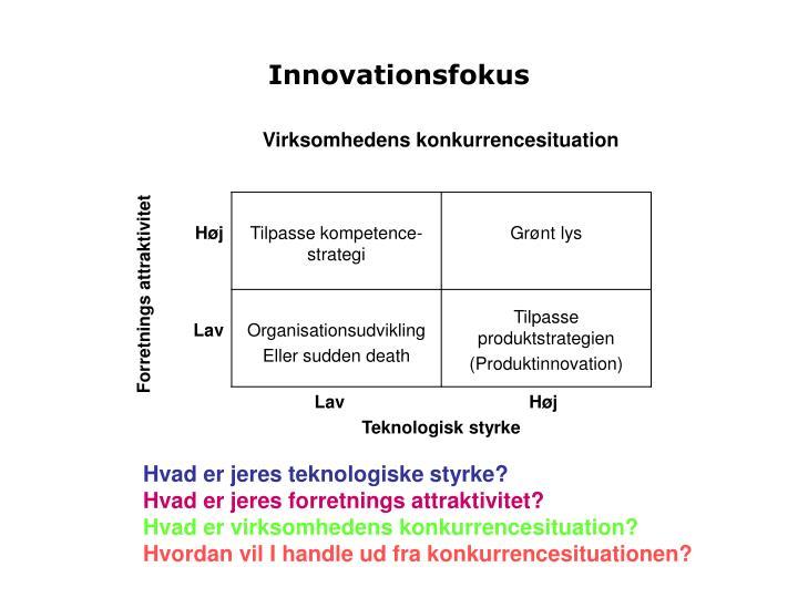 Innovationsfokus