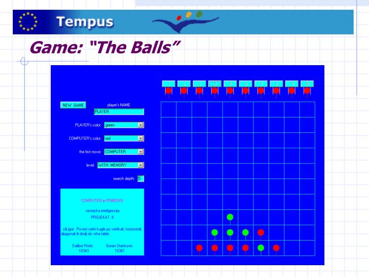"Game: ""The Balls"""