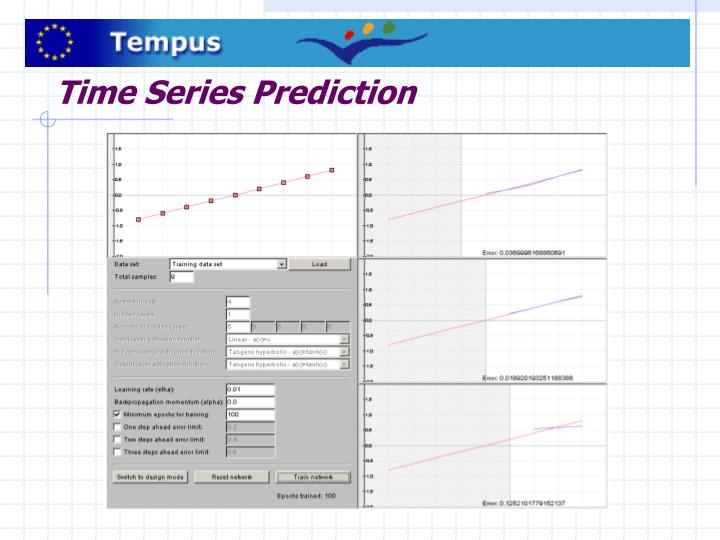 Time Series Prediction