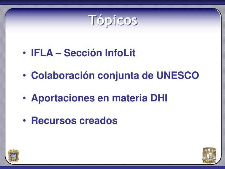 IFLA – Sección InfoLit