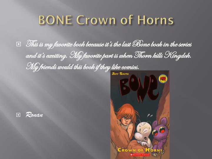 BONE Crown of Horns