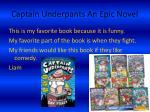 captain underpants an epic novel