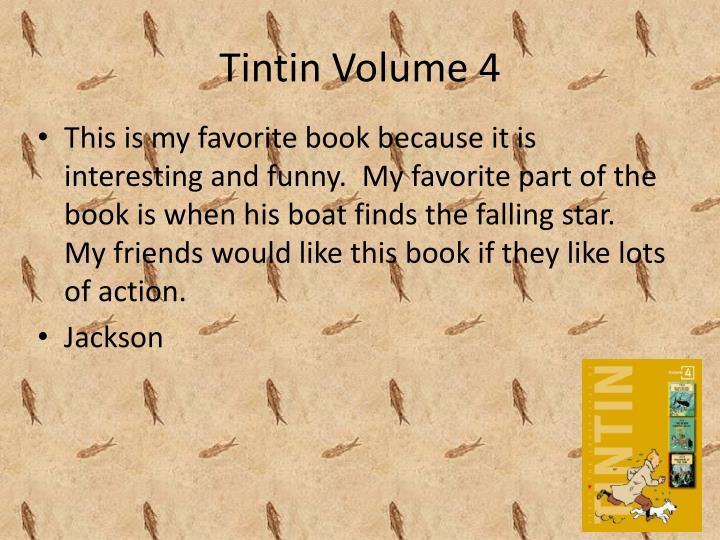 Tintin Volume 4