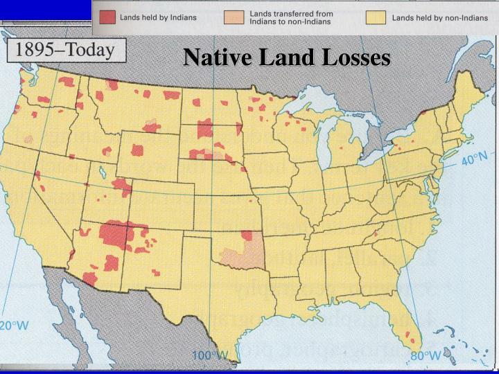 Native Land Losses