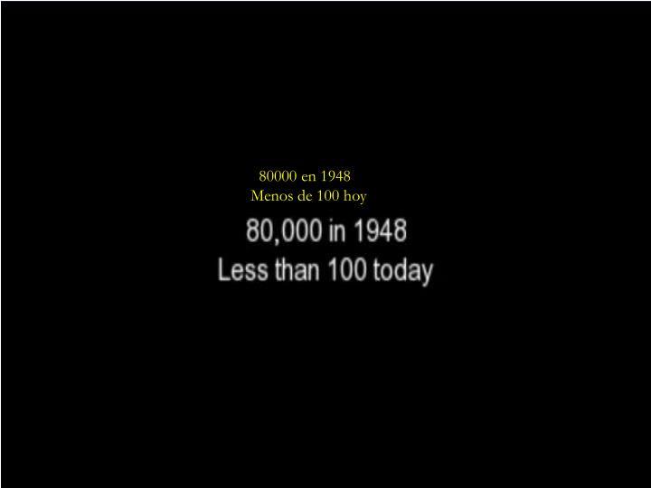 80000 en 1948