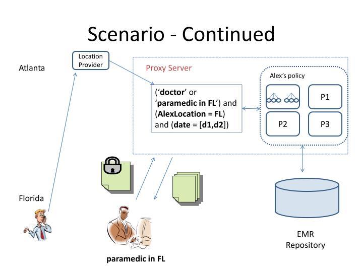 Scenario - Continued