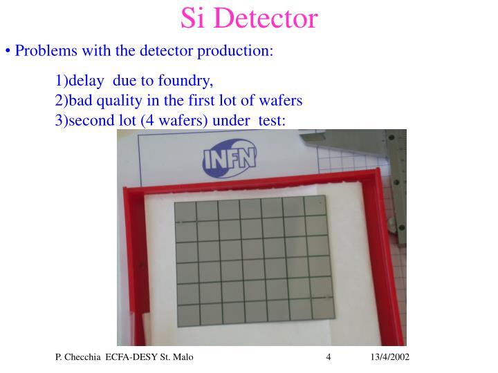 Si Detector