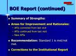 boe report continued1