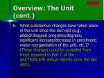 overview the unit cont3