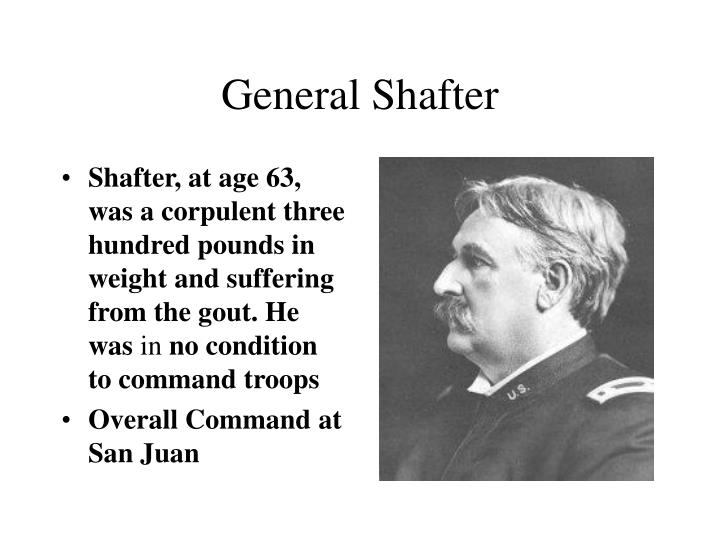 General Shafter