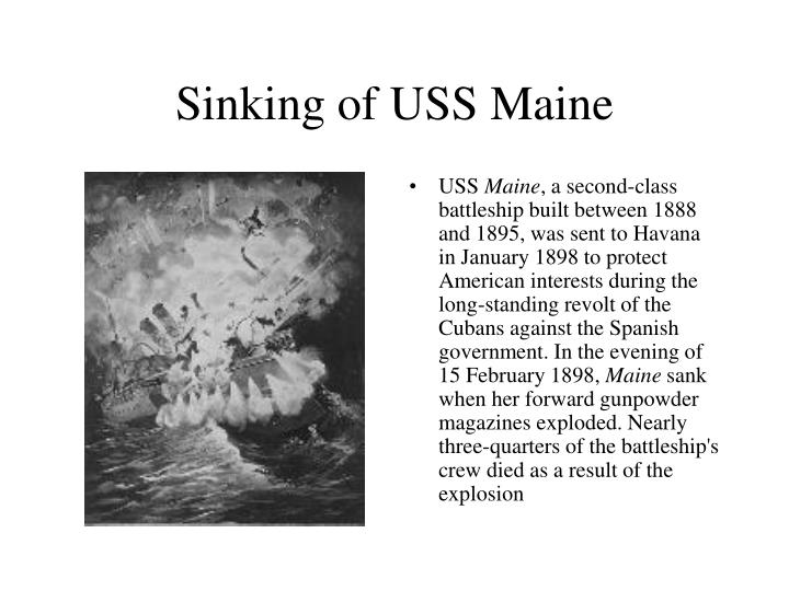 Sinking of USS Maine