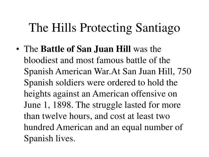 The Hills Protecting Santiago
