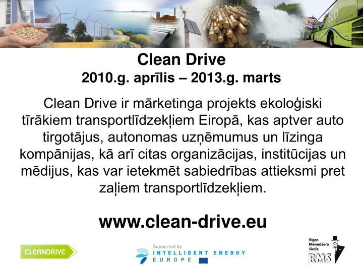 Clean Drive