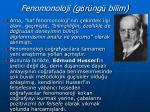 fenomonoloji g r ng bilim1