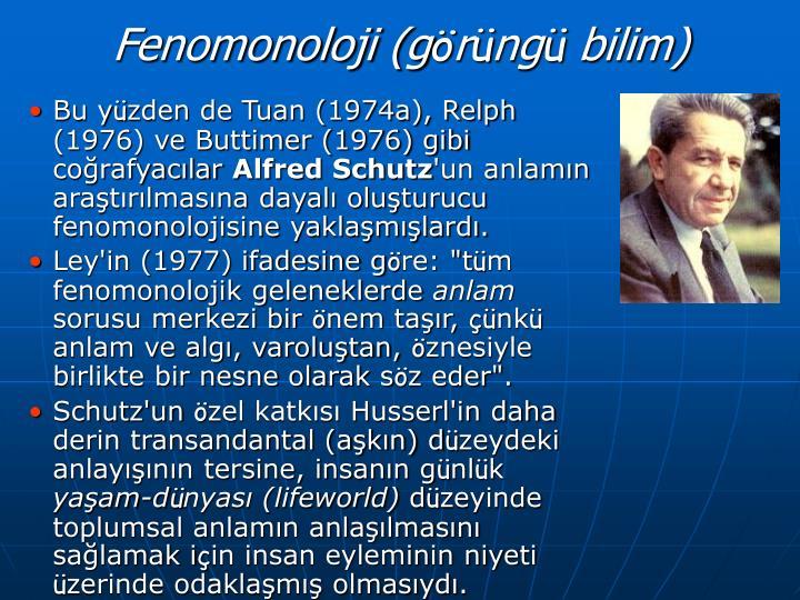 Fenomonoloji (g