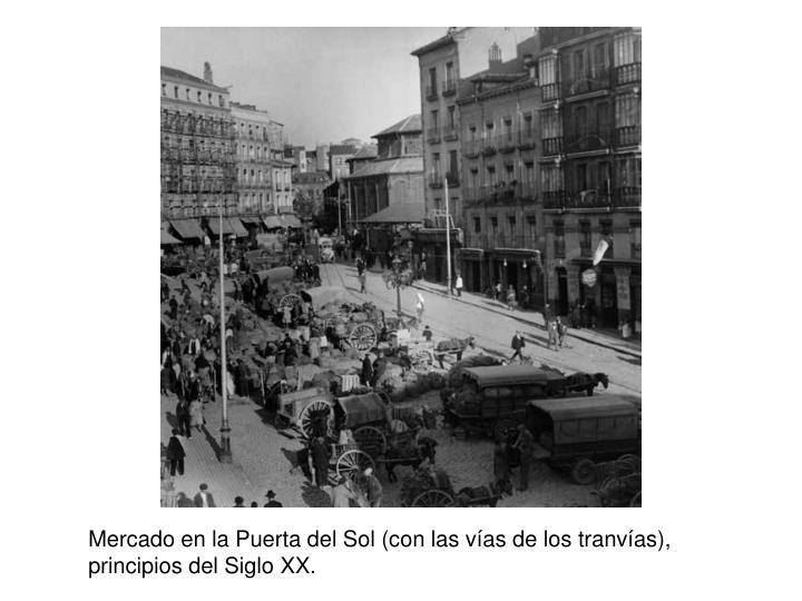 Mercado en la Puerta del Sol (con las v