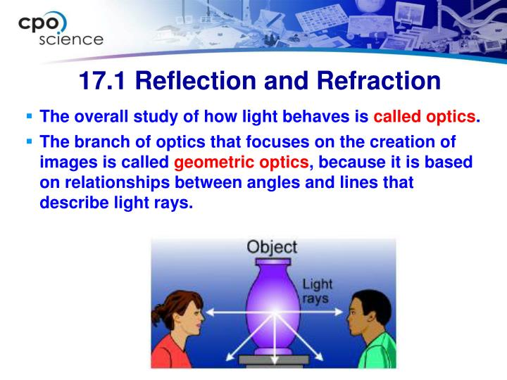 The overall study of how light behaves is