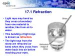 17 1 refraction