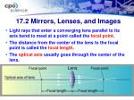 17 2 mirrors lenses and images4