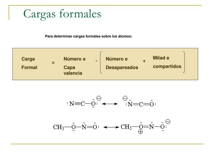 Cargas formales