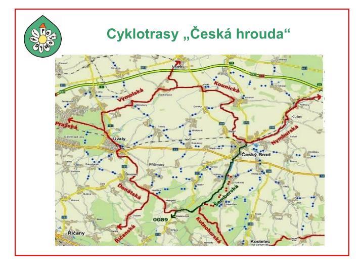 "Cyklotrasy ""Česká hrouda"""