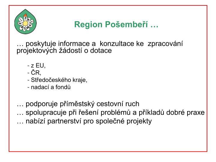 Region Pošembeří …