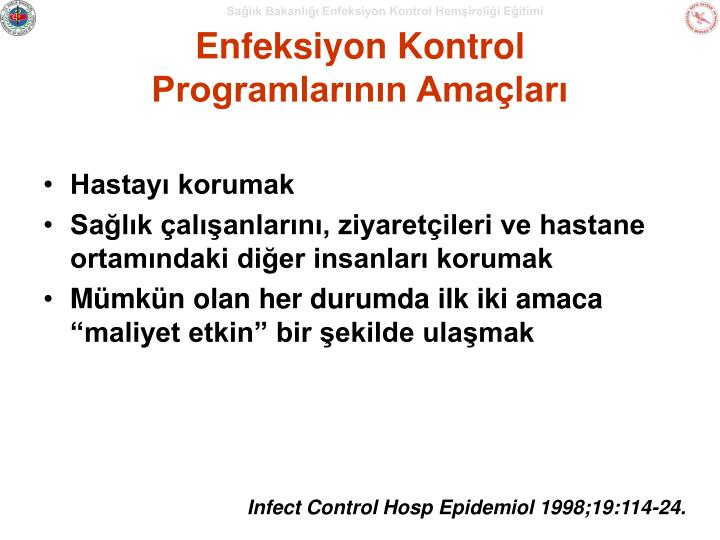 Enfeksiyon Kontrol